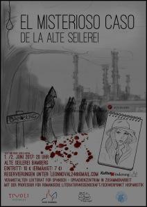 El misterioso caso de la Alte Seilerei_Cartel