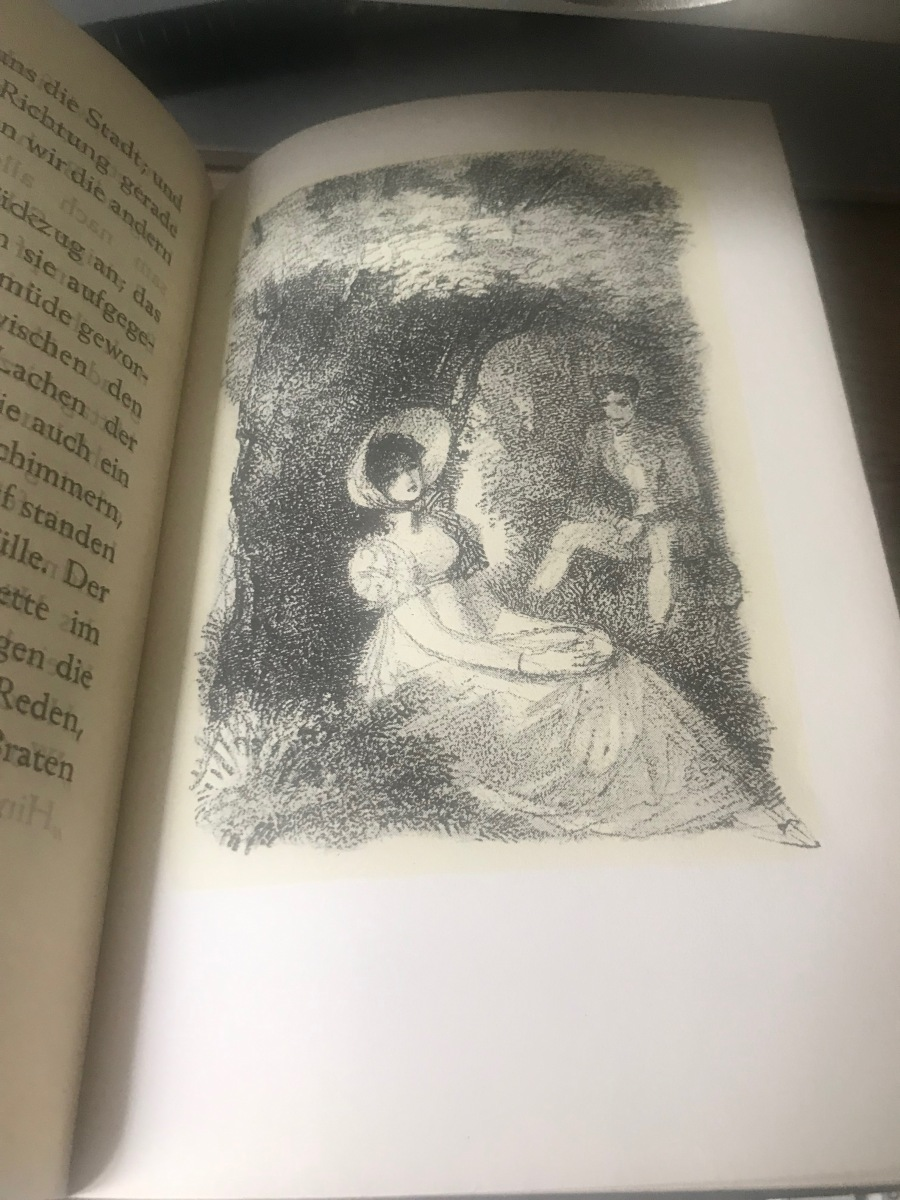 Tercer capítulo de El lago de las abejas, de Theodor Storm: En el bosque